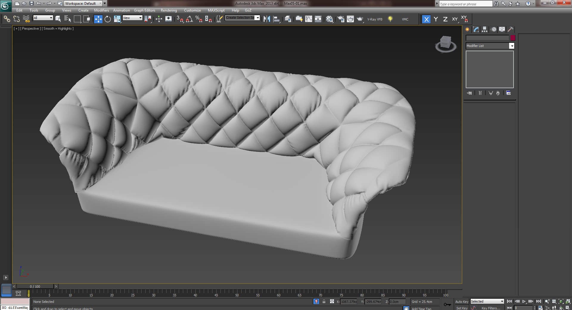 3D Modeling How To The Bohemian Sofa With Marvelous Designer 3D