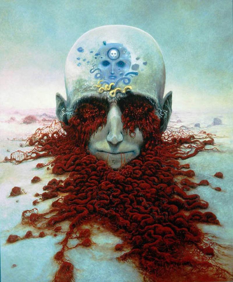 O artista que conseguiu captar o máximo horror dos sonhos 09