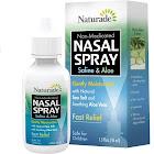 Naturade Nasal Spray, Non-Medicated, Saline & Aloe - 1.5 fl oz
