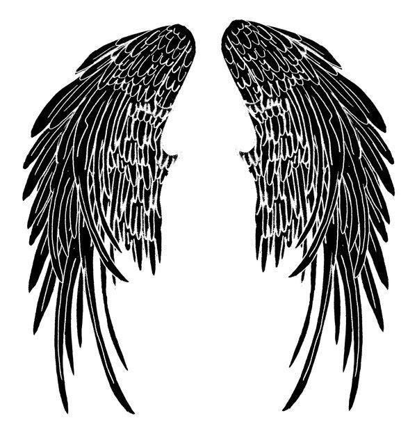 Angel Wing Tattoo Deviantart Artwork Tattoomagz