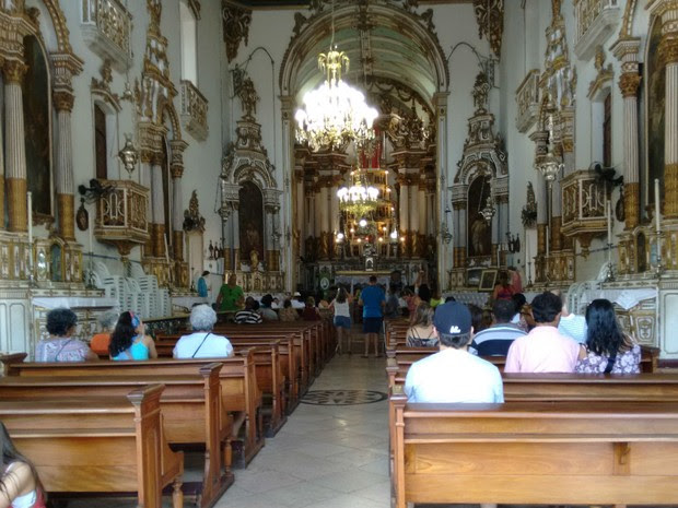 Igreja do Bonfim, em Salvador (Foto: Maiana Belo/G1 BA)