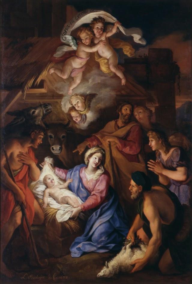 Louis de Boullogne (attr.) - La Nativité