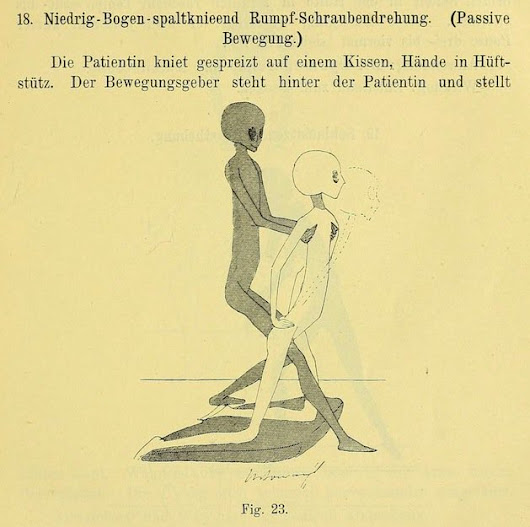 "pourmecoffee on Twitter: ""I found it. I found the creepiest thing ever published. ""Gynecological Exercises, 1895""  """