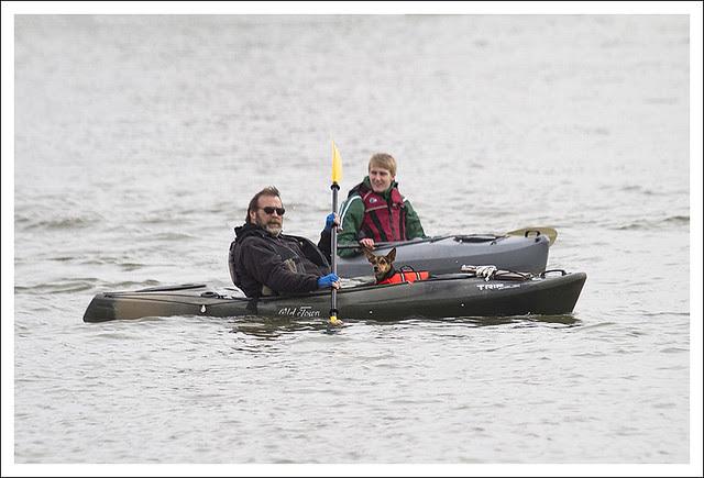 Kayaks On The Mississippi 1