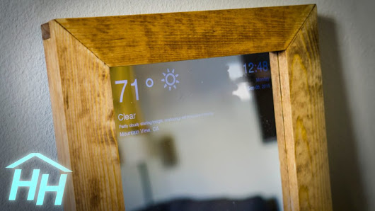 DIY: Raspberry Pi Smart Mirror | Full project Explanation