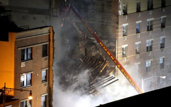 Explozie in New York