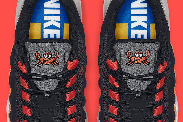 on sale eefb0 73d92 Nike Adds A Cartoon Crab To The Air Max 95