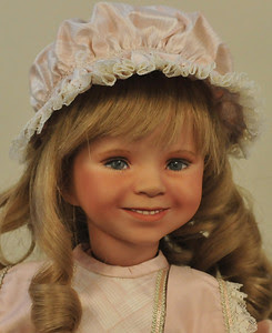 One of Shonna's blue ribbon dolls