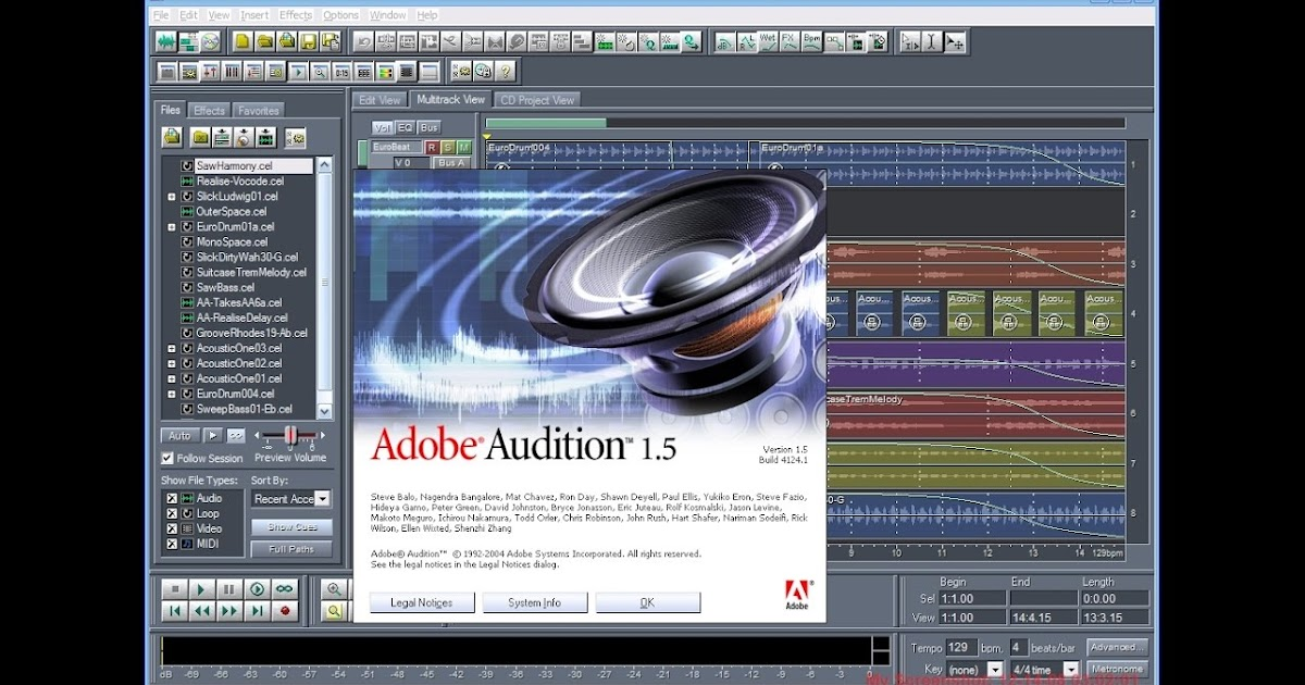 adobe audition 1.5 free download full