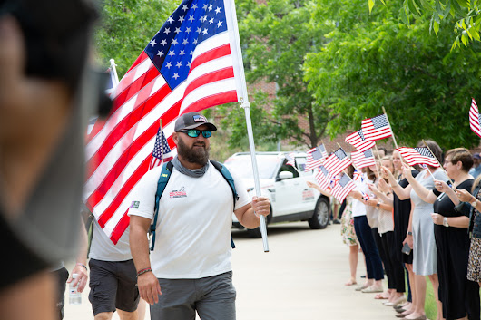 Texas Veteran Shares Pride and Needs of Injured Veterans on Walk of America | LinkedIn