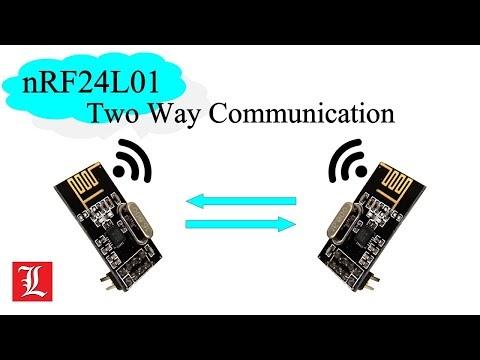 Transciever nRF24L01 untuk Komunikasi Dua Arah