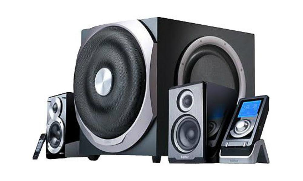 Review: Edifier S730 2.1 speaker system screenshot