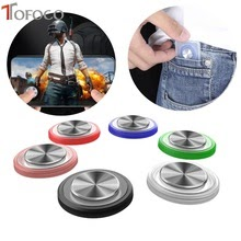Round Game Joystick Mobile Phone Rocker For Iphone Android Tablet
