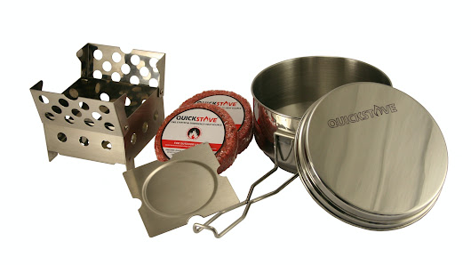 QuickStove Cook Kit - Emergency, Outdoor, Survival