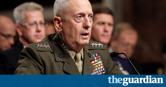 James Mattis called for reduction of US stockpile of land-based nuclear missiles | US news | The Guardian