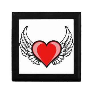 Flying Heart Gift Boxes