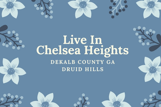 Chelsea Heights Druid Hills Decatur Living - Home In Decatur