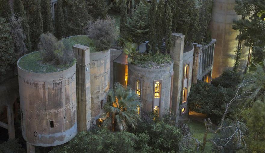 Ricardo Bofill casa personal cemento