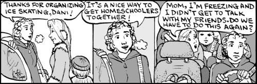 Home Spun comic strip #566