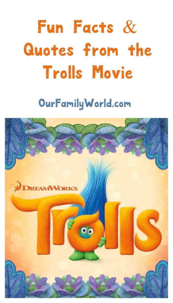 Fun Trolls Movie 2016 Quotes and Trivia Facts  OurFamilyWorld