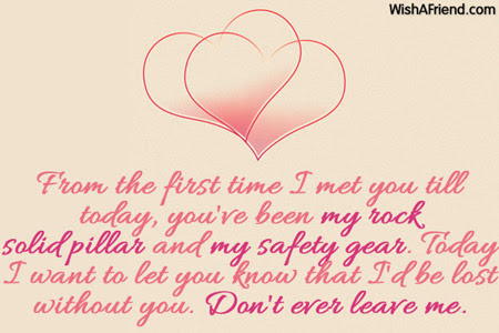 From The First Time I Met Love Message For Boyfriend