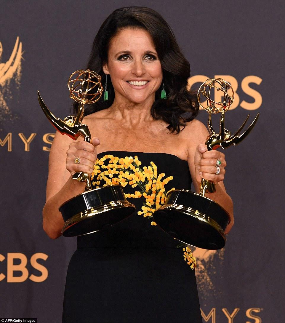 Twice as nice: She has won the same award for six consecutive years