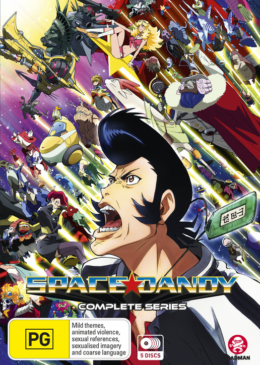 Space Dandy Complete Series Review – Capsule Computers