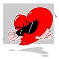 Groovy heart