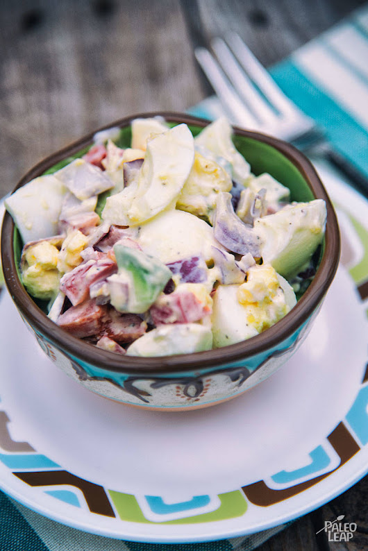 Egg And Avocado Salad Recipe