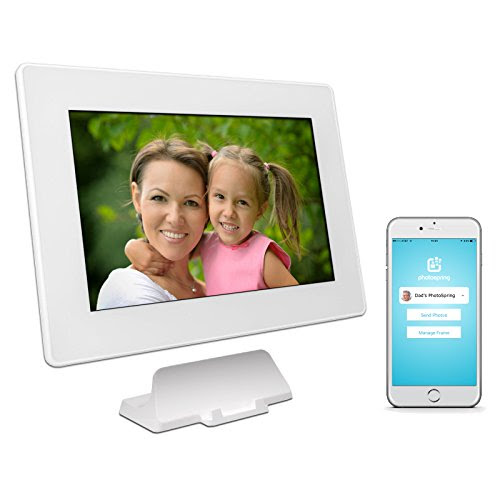 Photospring 16gb 10in Wifi Digital Photo Frame For Videos Pictures