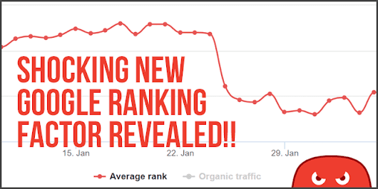 Shocking New Google Ranking Factor Revealed, Entire SEO Industry Transforms Overnight