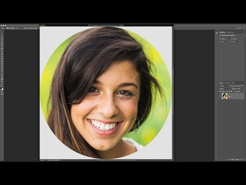 Crop Images in a Circle Shape with Photoshop