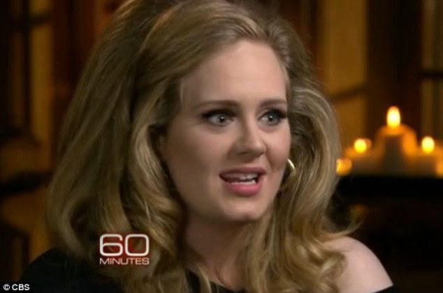 Comeback Musical: Adele fez seu canto vocal retorno para Anderson Cooper na CBS mostram 60 Minutos