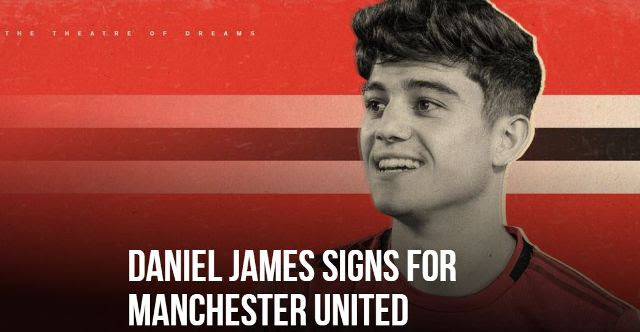 Daniel James Resmi Berseragam Manchester United