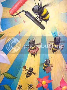 Jeff Soto: 'Spring Bees'