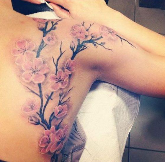 Tatuajes De Flores Distintos Diseños Para Hombres Mujeres Y Sus