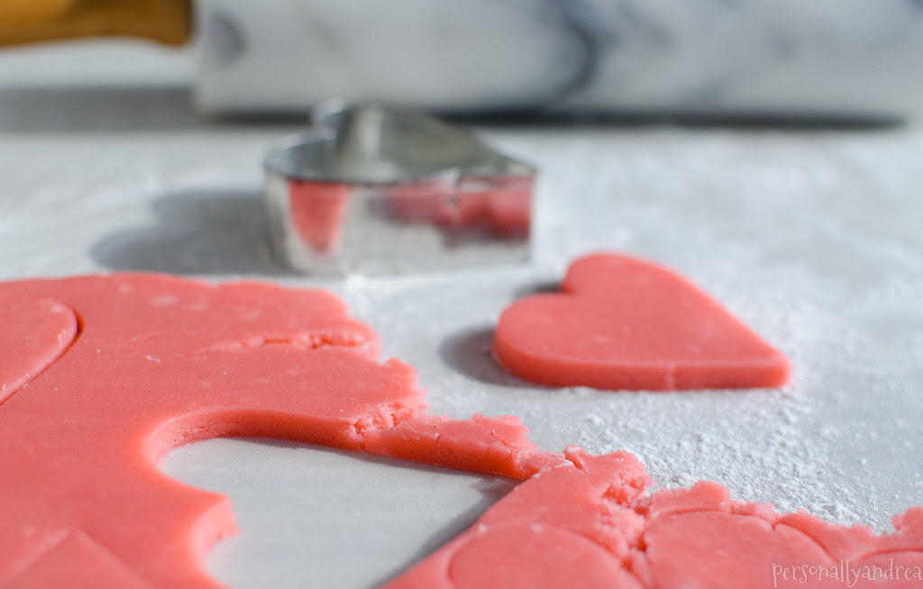 Pink Sugar Cookies | personallyandrea.com