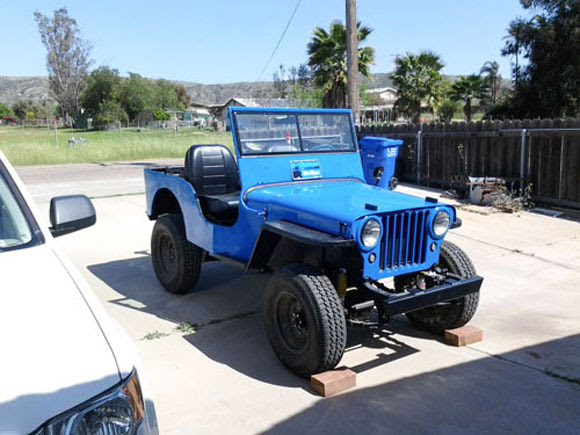 Ole Blue - Paul Mehaffie's 1946 Willys CJ-2A