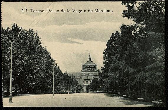 Hospital Tavera a comienzos del siglo XX. Postal de Grafos