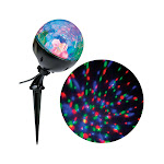 Gemmy 9439381 LED Confetti Light Show Projector Multicolored- pack of 12