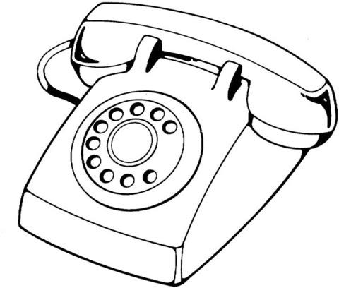 Disegno Di Telefono Da Colorare Disegni Da Colorare E Stampare Gratis