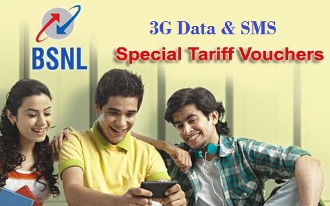 BSNL launches new data STVs and promos of  50% extra data on all data STVs