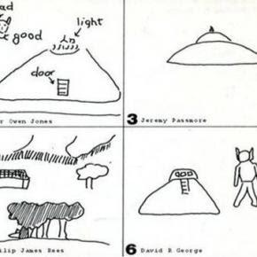 Disegni dei bambini testimoni degli UFO