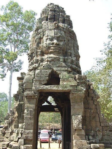 One of the Entrances to Ta Prohm