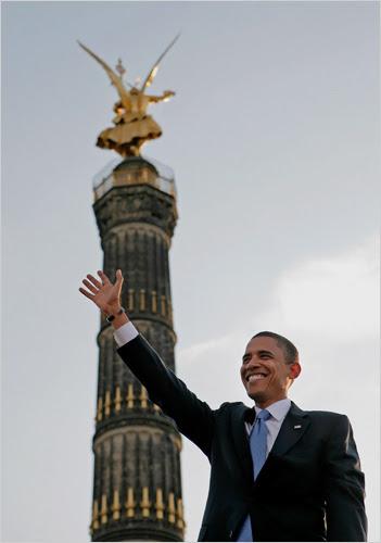 Barack in Berlin