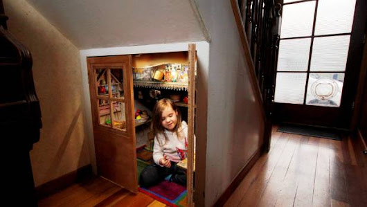 What to do with the space underneath the stairs |