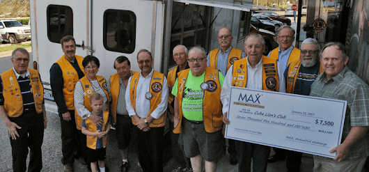 Insurance Center of Cuba Partners with MAX Insurance to Fund Local Lion's Club Concession Trailer
