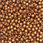 Toho Seed Beads, Round 11/0 #YPS0082 'Hybrid ColorTrends: Metallic Flame', 8 Grams