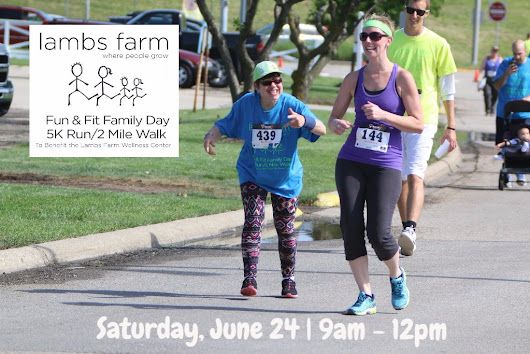 Join us for Fun & Fit Family Day 5K / Two Mile Walk!