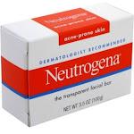 Neutrogena Glycerin Facial Cleansing Bar for Acne-Prone Skin - 3.5 oz box